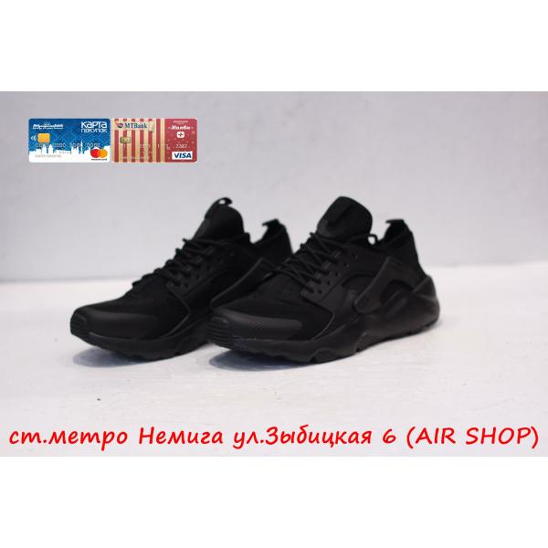 Кроссовки Nike Air Huarache ultra Black