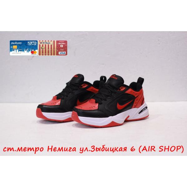 Кроссовки Nike air monarch Black/Red