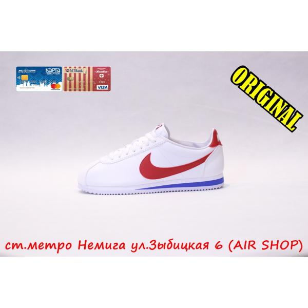 Кроссовки Nike cortez White/Red