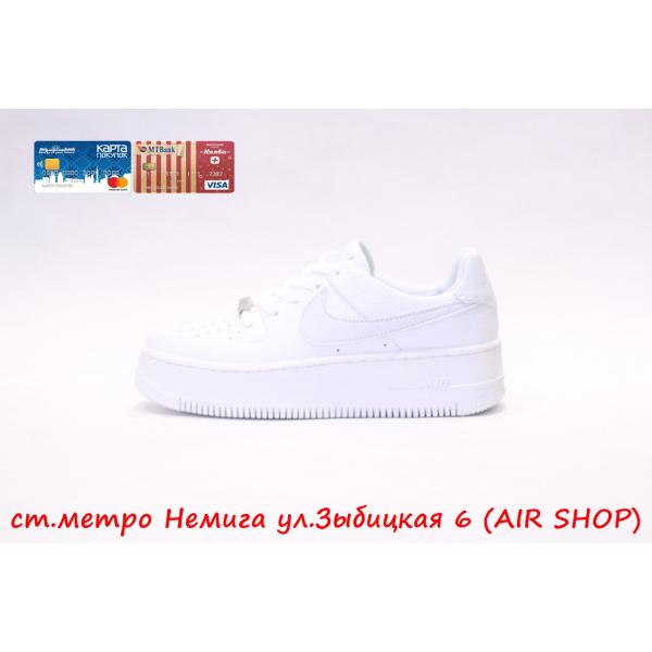 Кроссовки Nike Air Force Sage low White