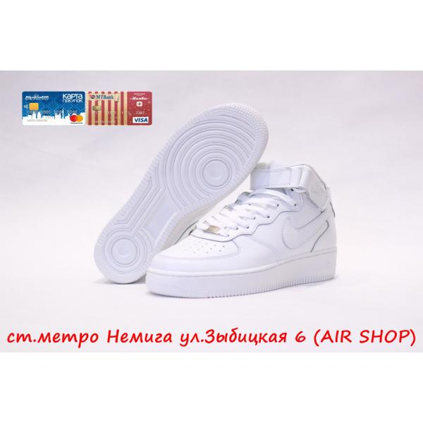 Кроссовки Nike Air Force 1 mid wmns White