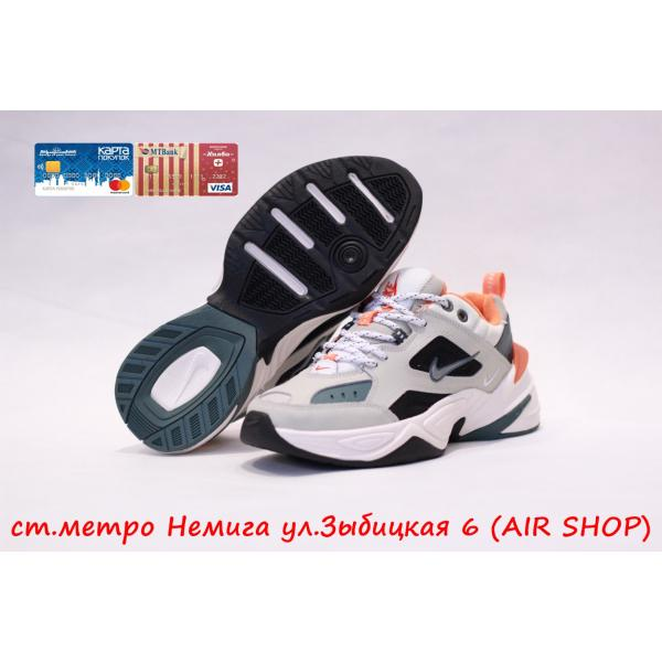Кроссовки Nike M2k tekno Grey/Orange