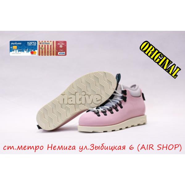 Кроссовки Native fitzsimmons 2019 rose pink / bone white