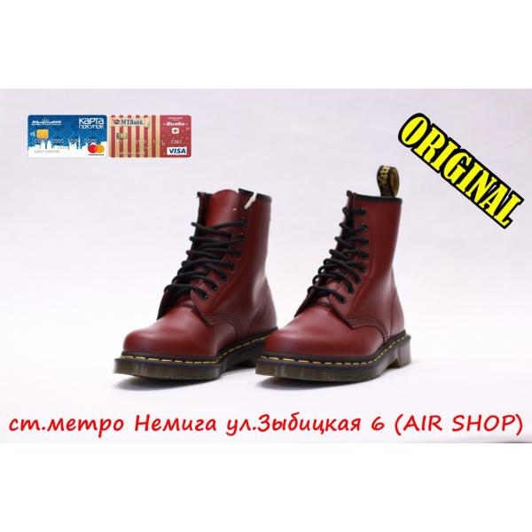 Кроссовки Dr.Martens Smooth 1460 Cherry Red