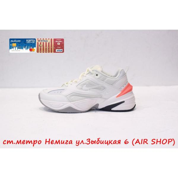 Кроссовки Nike M2K tekno wmns White/Orange