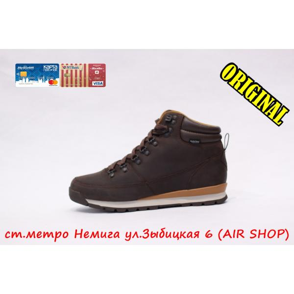 Кроссовки The North Face Back-to-berkeley redux leather brown