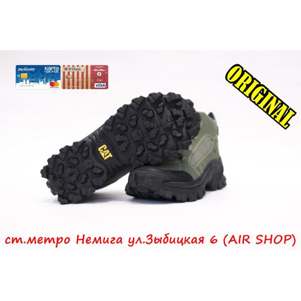 Кроссовки Caterpillar Cat Resistor Star Lichen Green
