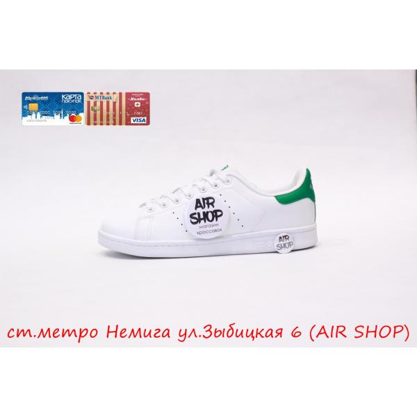 Кроссовки   Stan Smith wmns White/Green