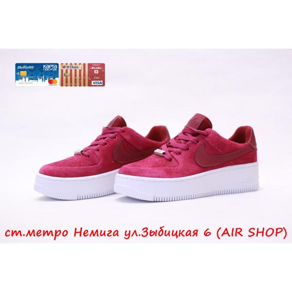 Кроссовки Nike Air Force Sage low Red