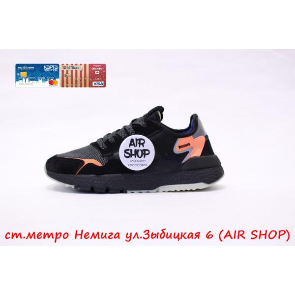 Кроссовки   nite jogger Black/Orange