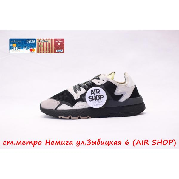 Кроссовки   nite jogger White/Black