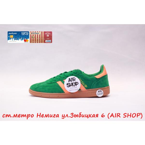 Кроссовки   Spezial Green/Orange