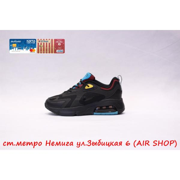 Кроссовки Nike Air Max 200 Black/Blue