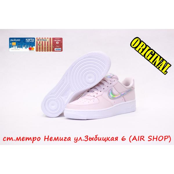 Кроссовки Nike Air Force 1 '07 ESS barely rose/ rose-white