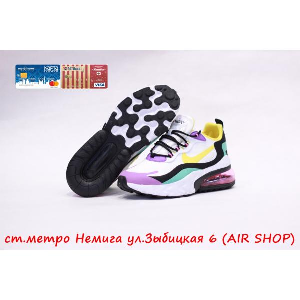 Кроссовки Nike Air max 270 React purple