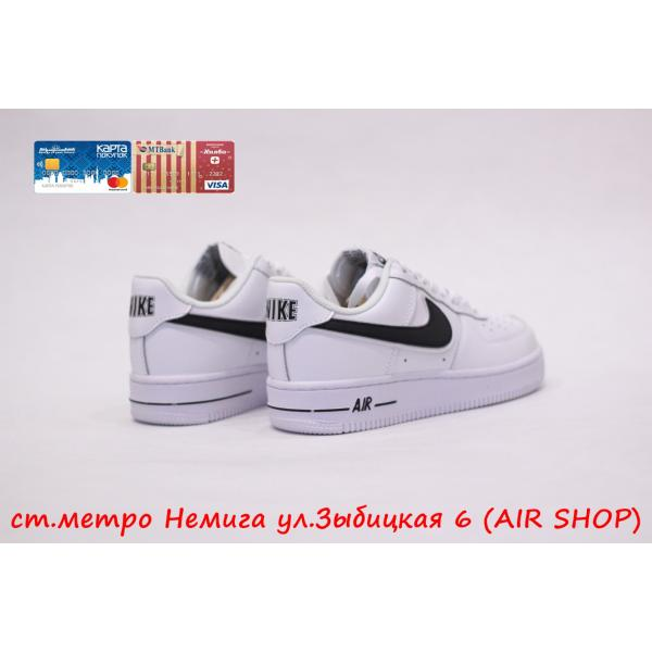 Кроссовки Nike Air Force 07 3 white/black