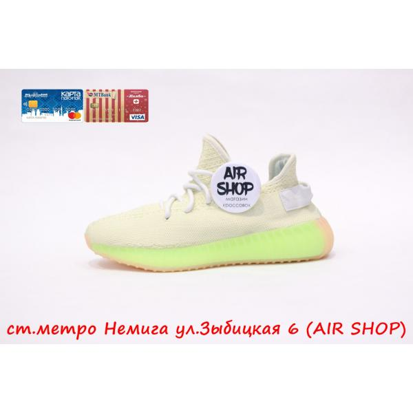 Кроссовки   yeezy 350 Yellow Green v2