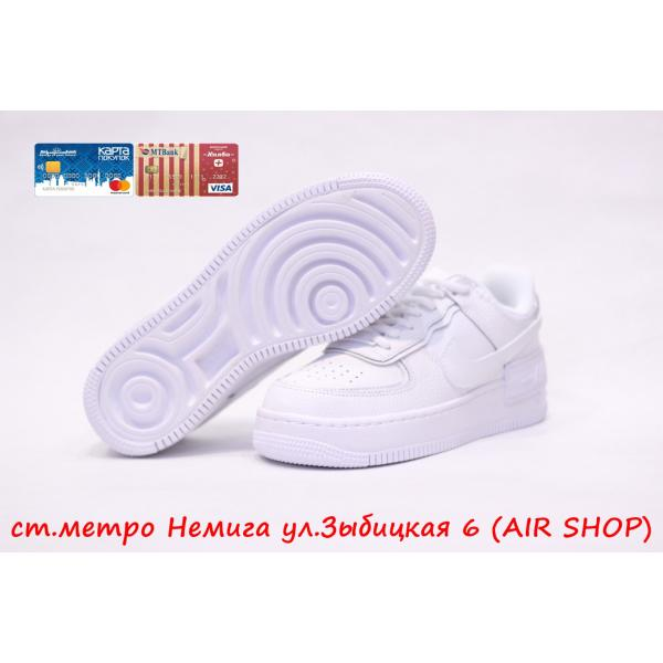 Кроссовки Nike Air Force 1 Shadow white
