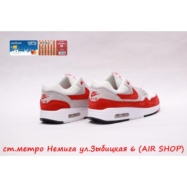 Кроссовки Nike air max 1 Red