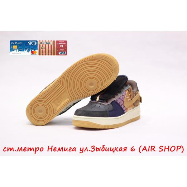 Кроссовки Nike Air Force 1 Cactus Jack