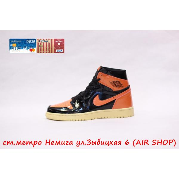 Кроссовки Nike Air Jordan 1 Bl/Orange