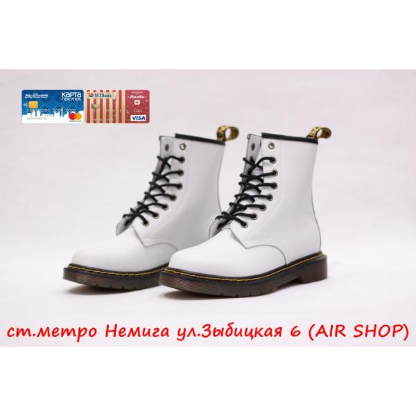 Кроссовки DR.MARTENS replica white smooth