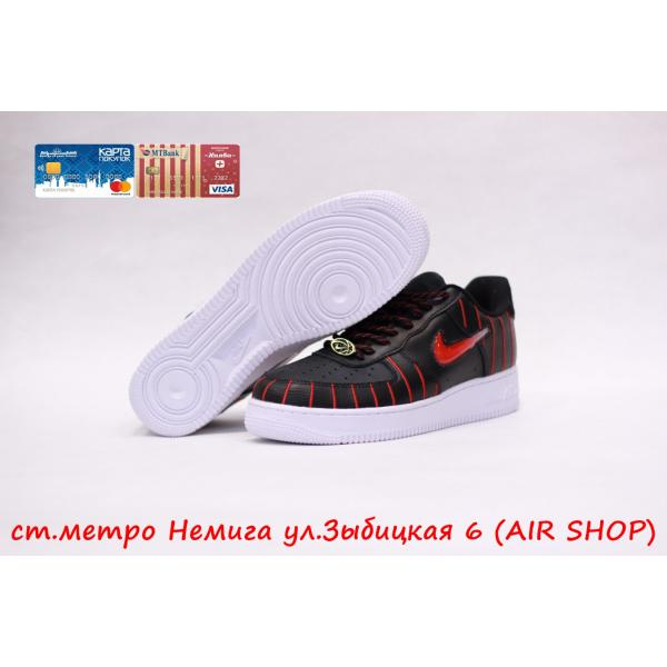 Кроссовки Nike Air Force 1 Bl/Red svush