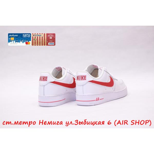 Кроссовки Nike Air Force 1 '07 LV8  white /red