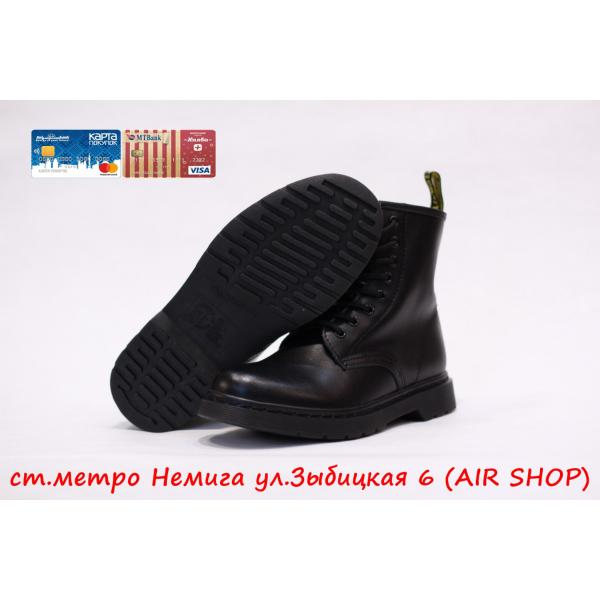 Кроссовки DR.MARTENS 1460 smooth Lux Mono Black