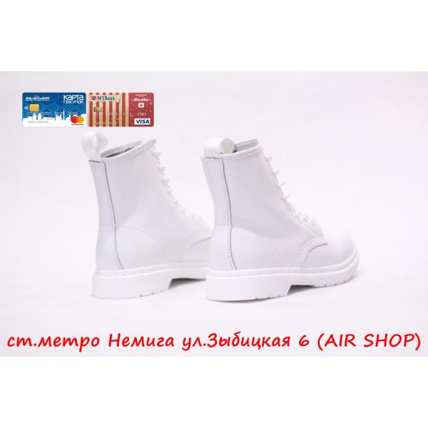 Кроссовки DR.MARTENS replica lux all white smooth