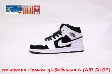 Nike Air Jordan 1 White-Bl
