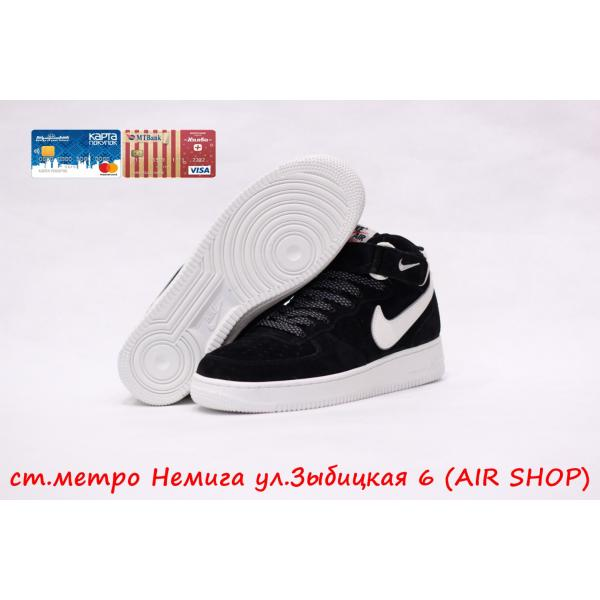 Кроссовки Nike Air Force VT Black