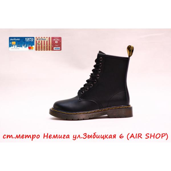 Кроссовки DR.MARTENS replica black/smooth witner