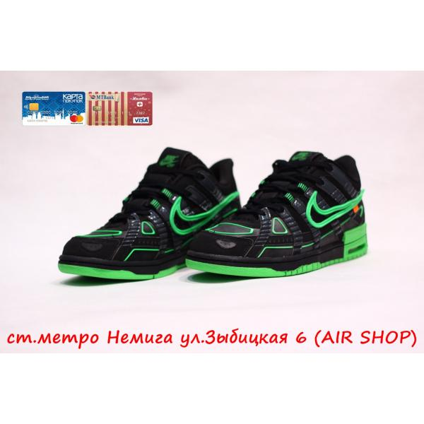 Кроссовки Nike Air Rubber Dunk / OW