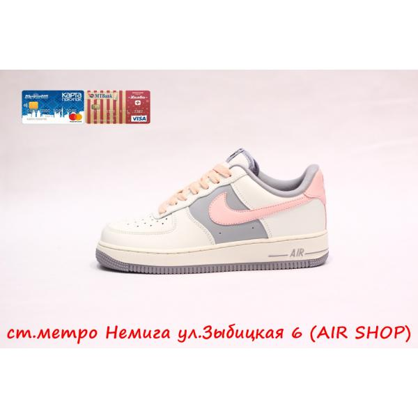 Кроссовки Nike Air Force LV8 pink