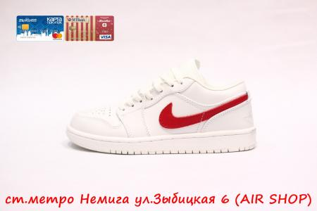 Nike Air Jordan 1 low Red/Wh