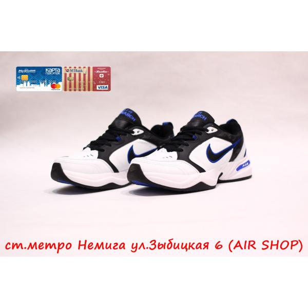 Кроссовки Nike air monarch wh/bl
