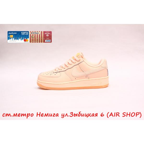 Кроссовки Nike Air Force  Pink/Grey
