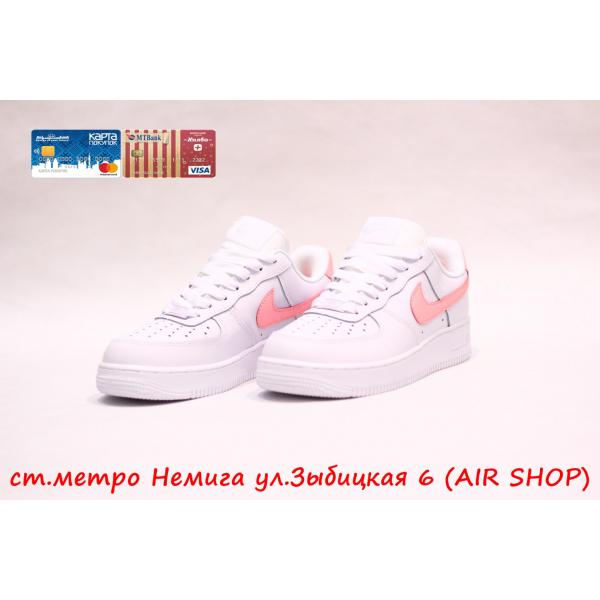Кроссовки Nike Air Force 1 Wh/pink