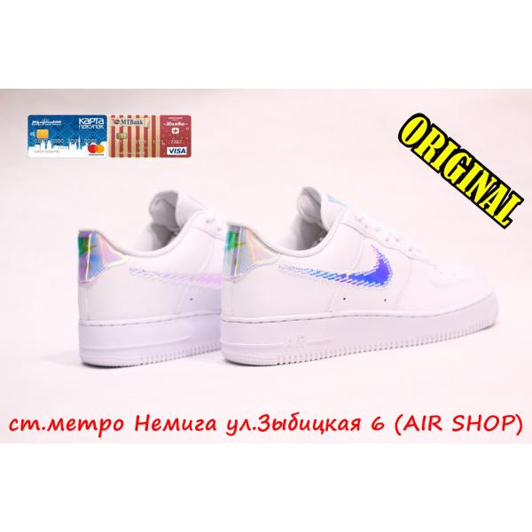 Кроссовки Nike Air Force 1 07 LV8 white/multi-color