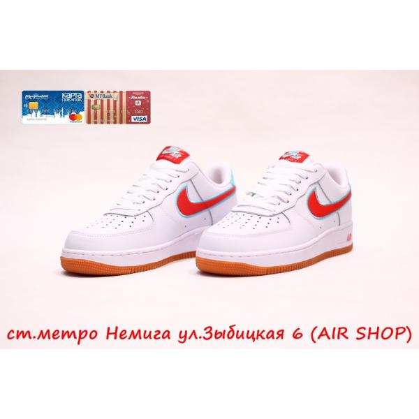 Кроссовки Nike Air Force 1 SW red