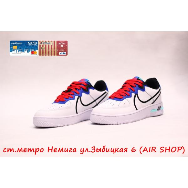 Кроссовки Nike Air Force 1 React White NEW