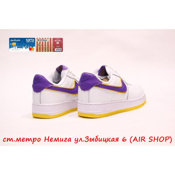 Кроссовки Nike Air Force 1 Lakers