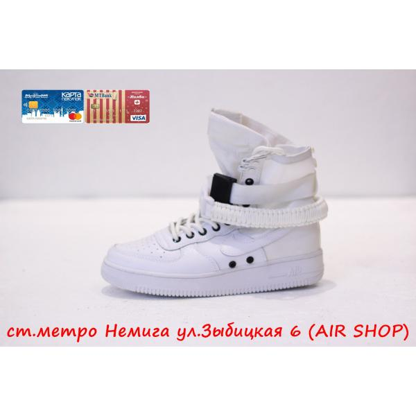 Кроссовки Nike Air Force 1 SF wmns White