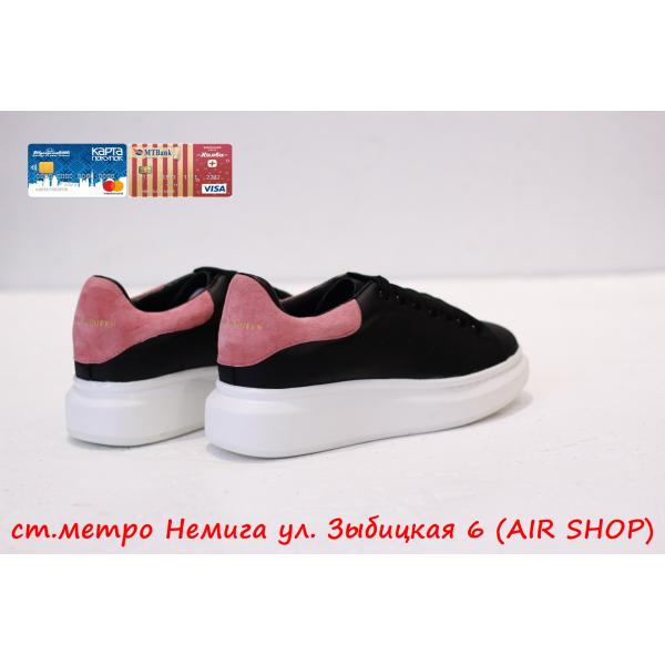 Кроссовки Alexander Mcqueen Black/Pink